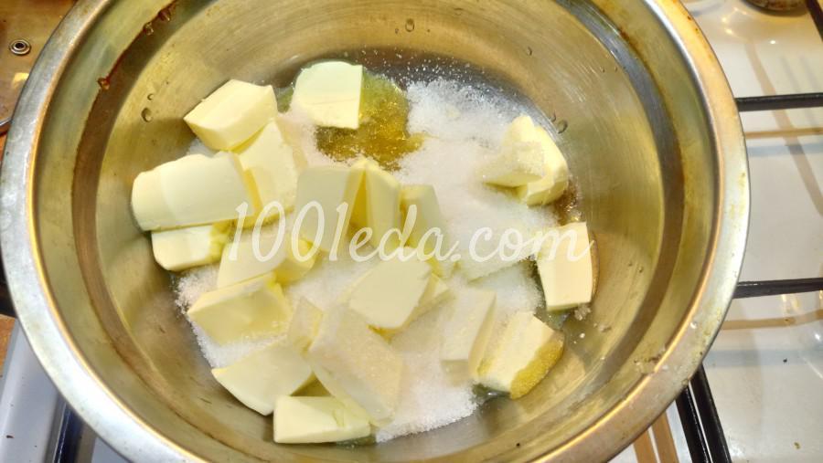 Шоколадный медовик с черносливом: рецепт с пошаговым фото - Шаг №1