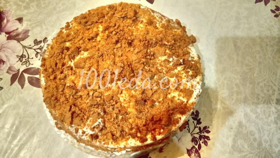 Шоколадный медовик с черносливом: рецепт с пошаговым фото - Шаг №7
