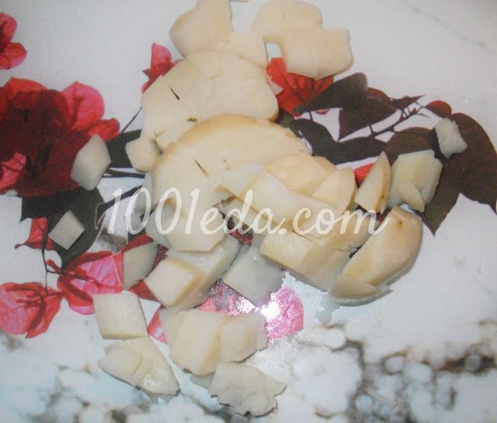 Штрудель с мясом и картофелем в духовке: пошаговый с фото - Шаг №2