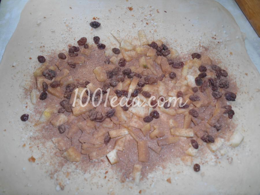 Штрудель с яблоками: пошаговый с фото - Шаг №12