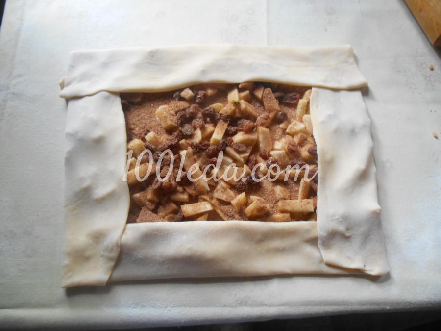 Штрудель с яблоками пошаговый рецепт