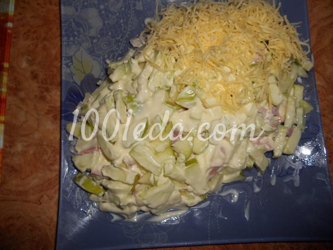 Салат черепашка с пошаговым фото