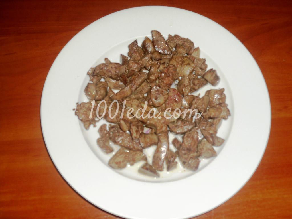 нежный салат с рецепт с фото пошагово
