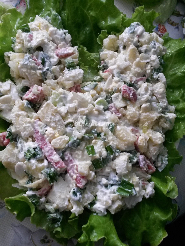 пошаговые рецепты салатов из горбуши