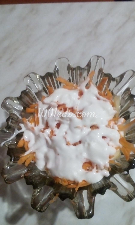 Салат фруктово-овощной с курагой, черносливом и сыром: пошаговый с фото - Шаг №12
