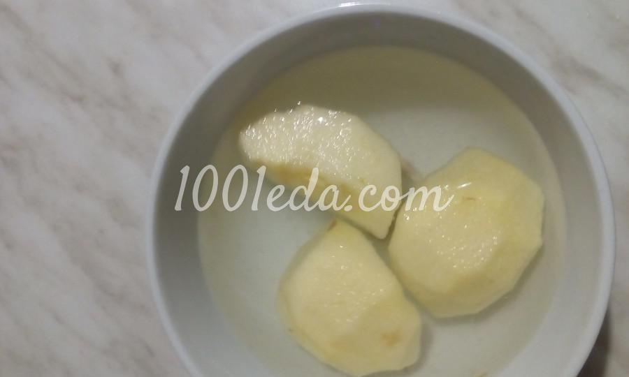 Салат фруктово-овощной с курагой, черносливом и сыром: пошаговый с фото - Шаг №7