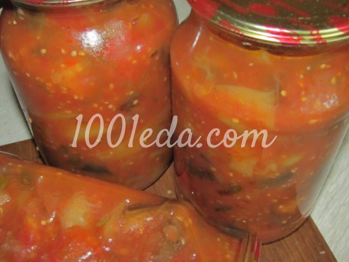 Рецепт баклажаны с перцем и помидорами на зиму рецепты с пошагово