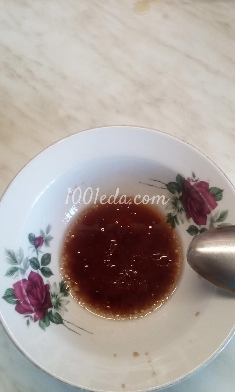 Салат из белокочанной капусты и сельдерея с заправкой из бальзамического уксуса: пошаговое фото - Шаг №5