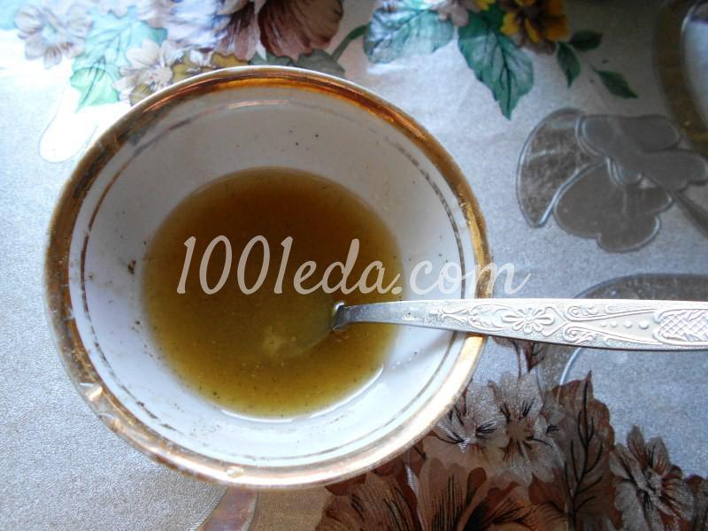 Салат из любимых травок с заливкой: пошаговое фото - Шаг №6