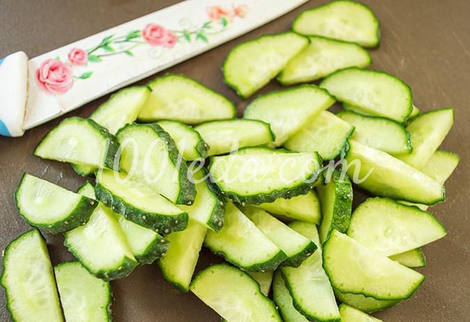 Салат овощной с помидорами Ассорти: пошагово с фото - Шаг №2