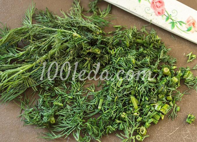 Салат овощной с помидорами Ассорти: пошагово с фото - Шаг №6