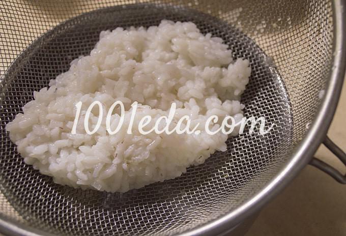 Салат с крабовыми палочками, консервированной кукурузой и свежим огурцом: пошагово с фото - Шаг №5