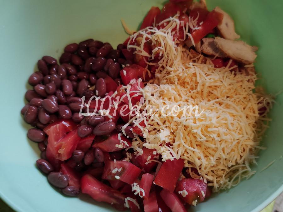 Салат с куриной грудкой, фасолью и помидорами: пошаговый с фото - Шаг №1