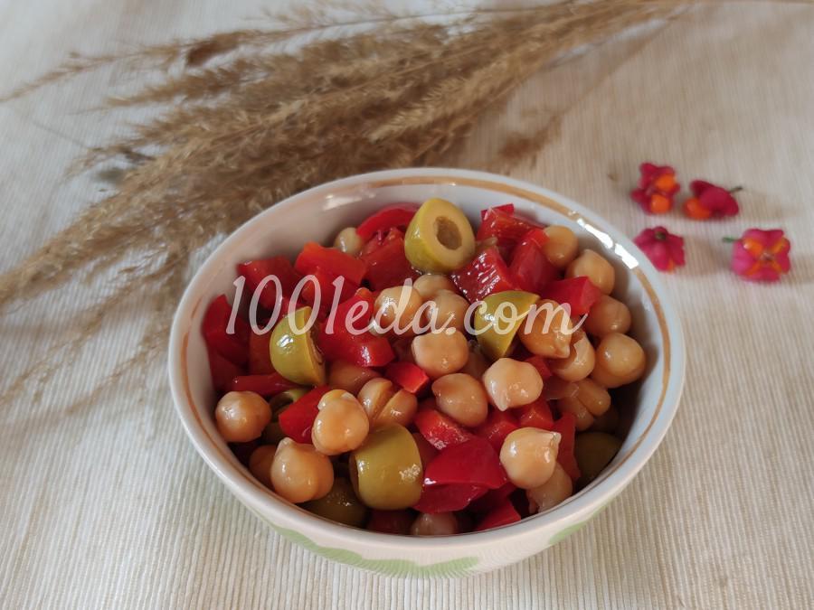 Салат с нутом и сладким перцем: пошаговый с фото - Шаг №3
