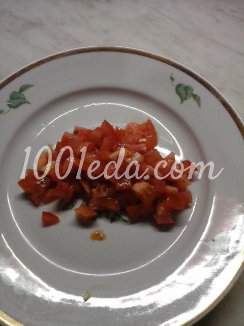 Салат вегетарианский из помидоров, болгарского перца и лука: пошаговый с фото - Шаг №5