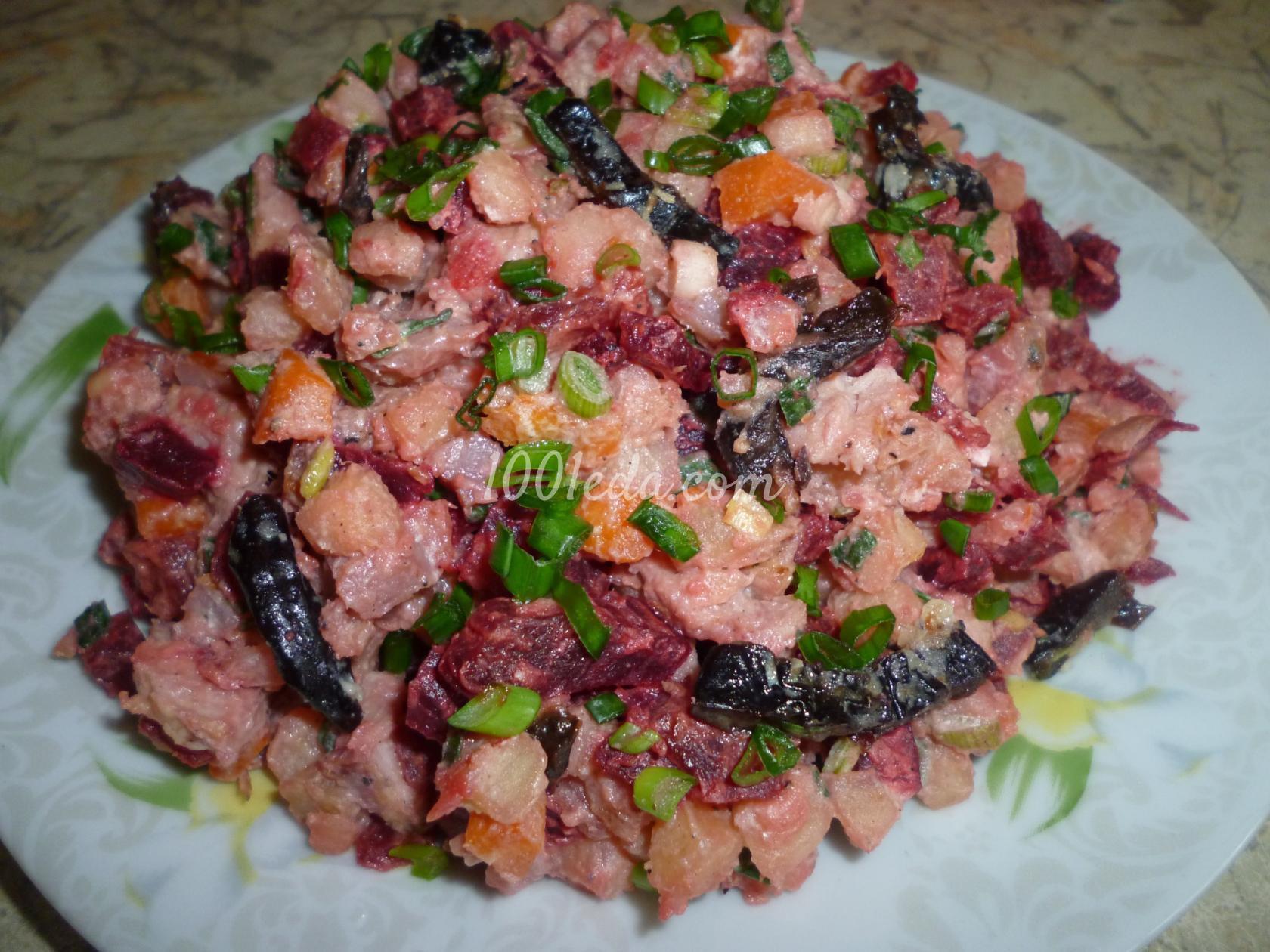 рецепты салатов мельник с фото