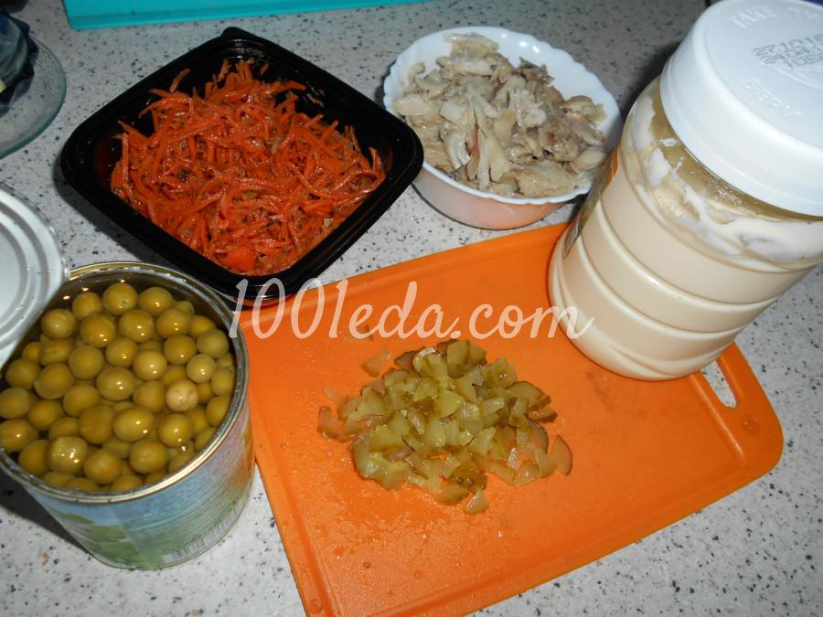 Салатик для Новогодних праздников: пошаговый с фото - Шаг №1