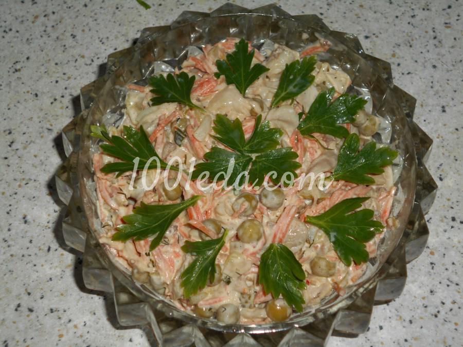 Салатик для Новогодних праздников: пошаговый с фото - Шаг №4