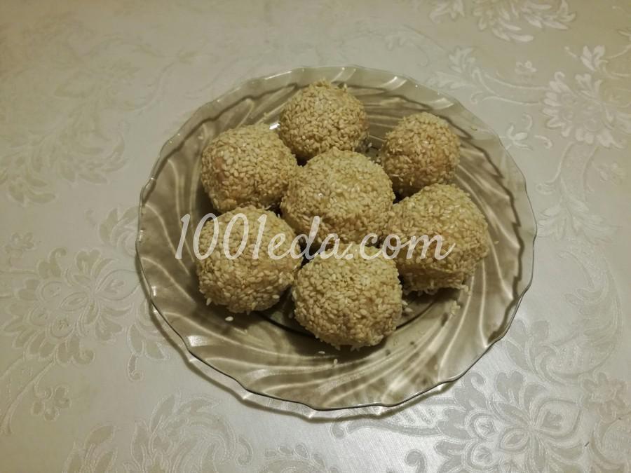 Салатные шарики из печени тпески - Шаг №3