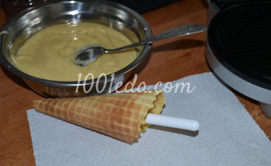 Самые вкусные, хрустящие вафли из детства: пошаговое фото - Шаг №11