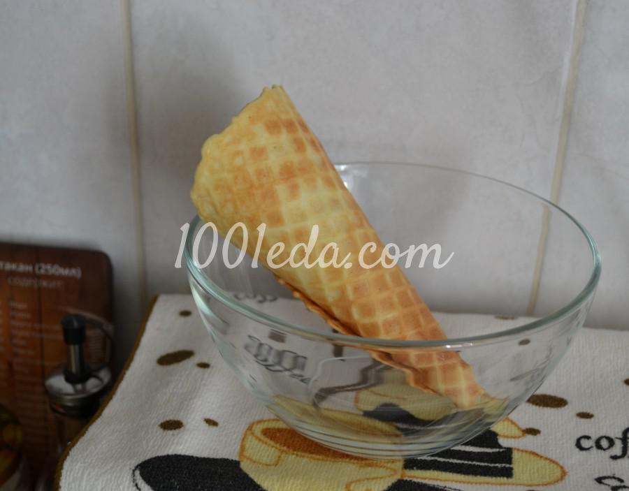Самые вкусные, хрустящие вафли из детства: пошаговое фото - Шаг №12