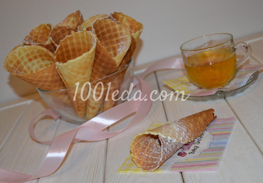 Самые вкусные, хрустящие вафли из детства: пошаговое фото - Шаг №13