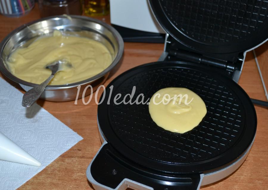 Самые вкусные, хрустящие вафли из детства: пошаговое фото - Шаг №9