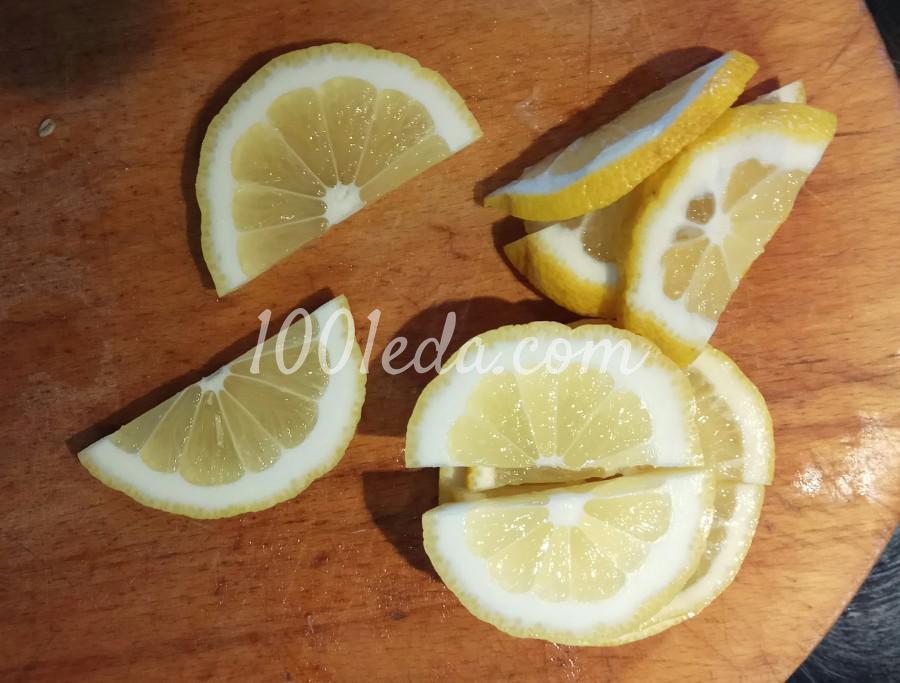 Скумбрия, запечённая с лимоном в духовке: пошаговый с фото - Шаг №3