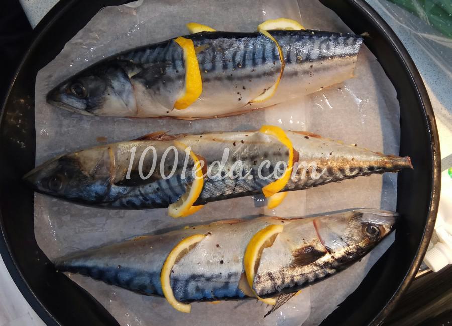 Скумбрия, запечённая с лимоном в духовке: пошаговый с фото - Шаг №4