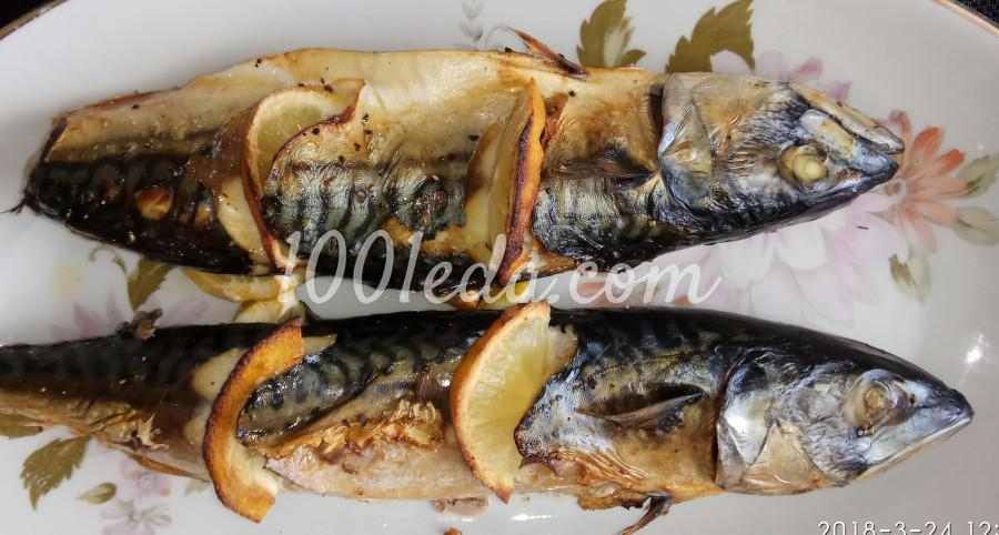 Скумбрия, запечённая с лимоном в духовке: пошаговый с фото - Шаг №6