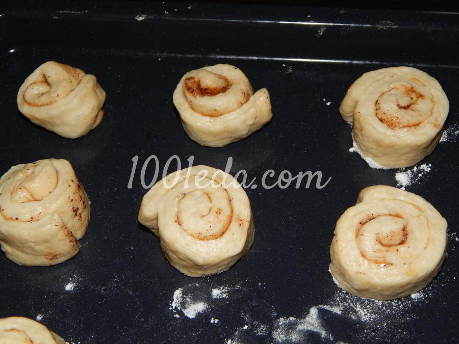 Сладкие, ароматные булочки с корицей: пошаговый с фото - Шаг №3