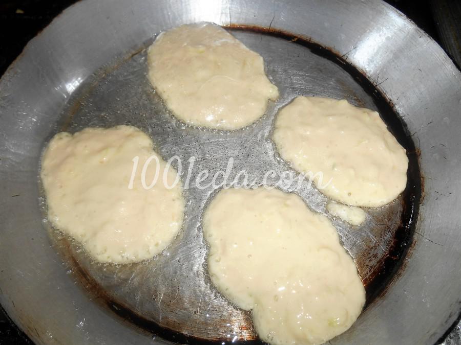 Сладкие оладьи из кабачков на кефире: пошаговое фото - Шаг №7