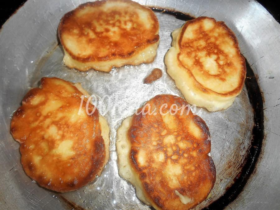 Сладкие оладьи из кабачков на кефире: пошаговое фото - Шаг №8