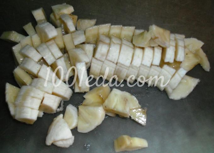 Сладкий фруктовый пирог из постного теста: рецепт с пошаговым фото - Шаг №3