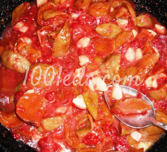 Сладкий фруктовый пирог из постного теста: рецепт с пошаговым фото - Шаг №6