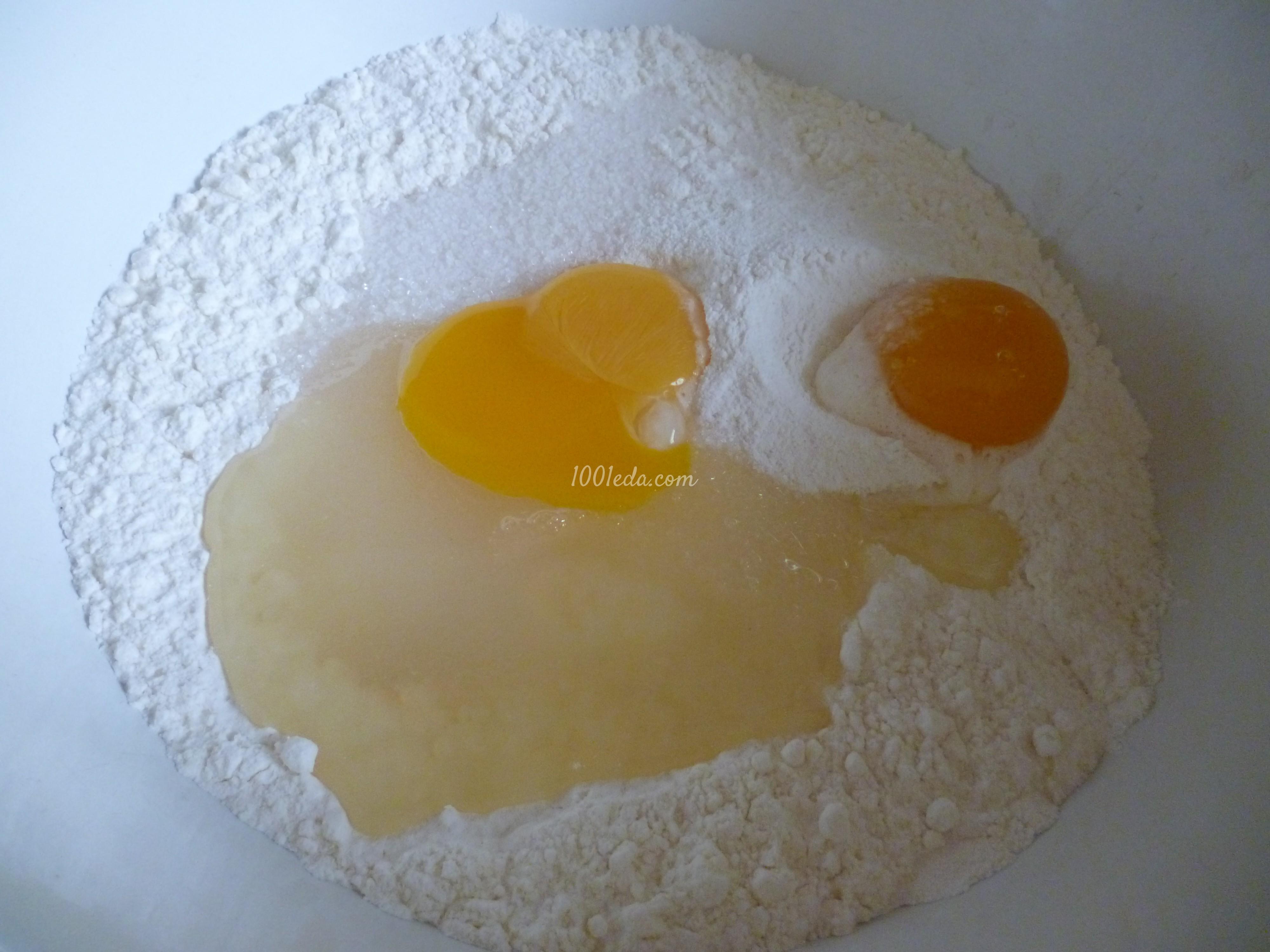 Сладкое солнышко с картошкой и яйцом: рецепт с пошаговым фото - Шаг №1