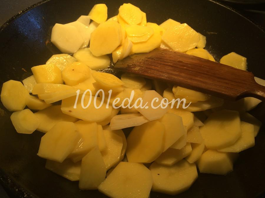 Сливочный картофель, запечёный с грибами: рецепт с пошаговым фото - Шаг №2