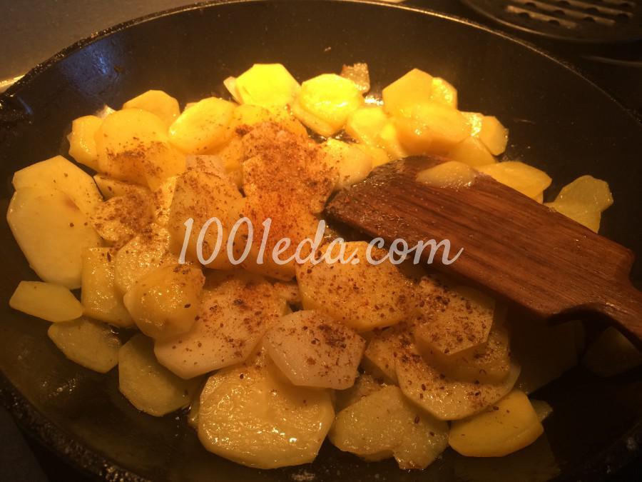 Сливочный картофель, запечёный с грибами: рецепт с пошаговым фото - Шаг №3