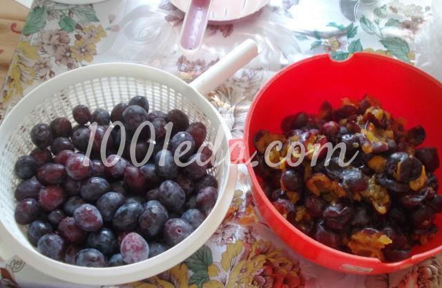 Сливовый сок с мякотью на зиму: пошаговый с фото - Шаг №2