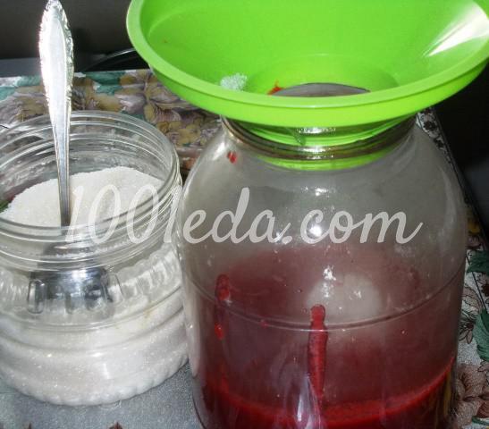 Сливовый сок с мякотью на зиму: пошаговый с фото - Шаг №6