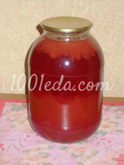 Сливовый сок с мякотью на зиму: пошаговый с фото - Шаг №7