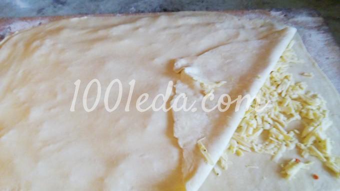 Слоеные сырные палочки: пошаговый с фото - Шаг №3