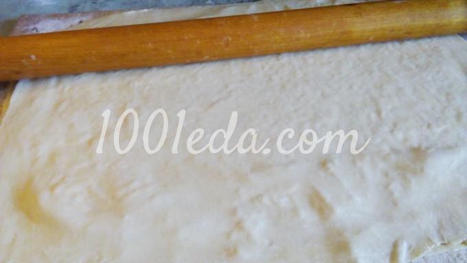 Слоеные сырные палочки: пошаговый с фото - Шаг №4