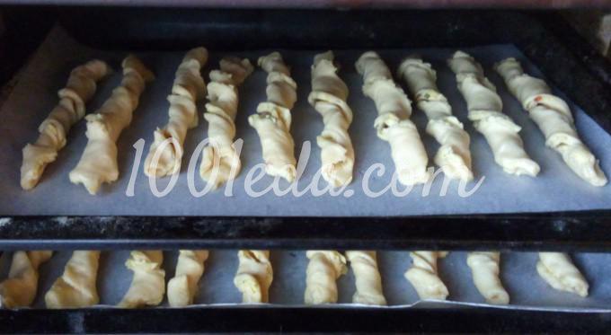 Слоеные сырные палочки: пошаговый с фото - Шаг №5