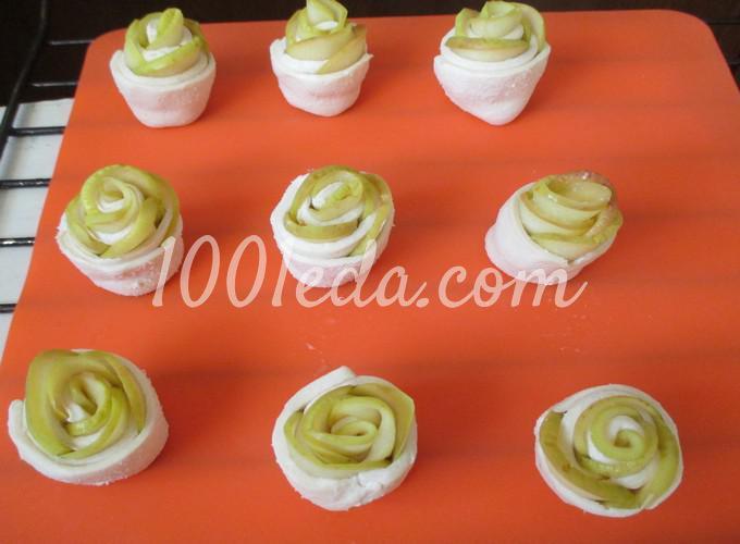 Слойки с яблоками, пошаговый рецепт с фото - Гастроном 2