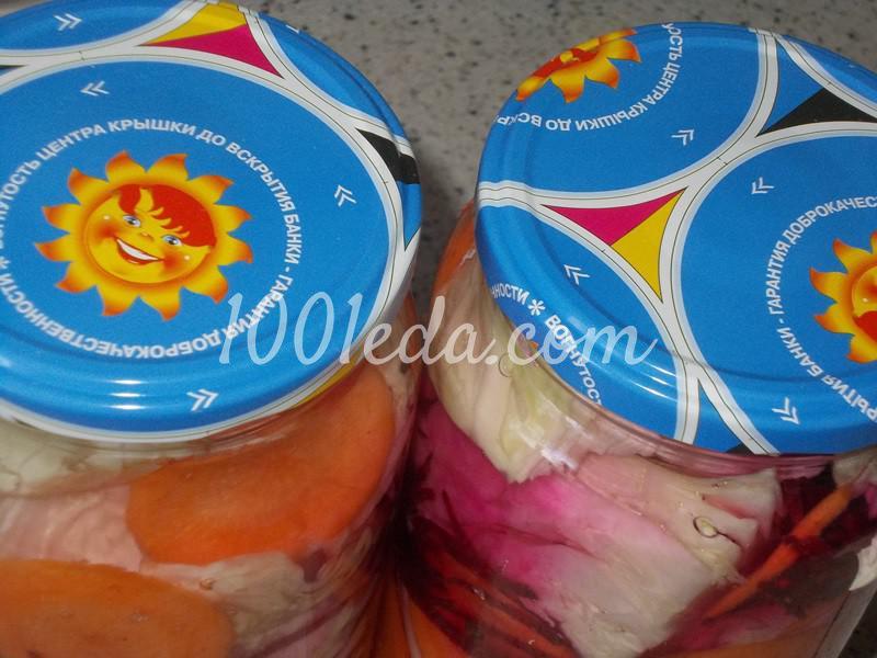 Соленая капуста в баночках крупными кусочками: пошаговый с фото - Шаг №5