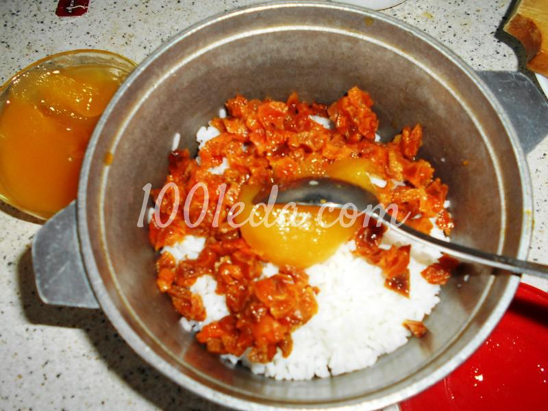 Современное сочиво с рисом и курагой: пошаговое фото - Шаг №4