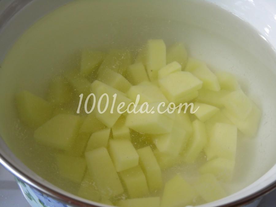 Суп рыбный с сыром и шпинатом: пошаговый с фото - Шаг №1