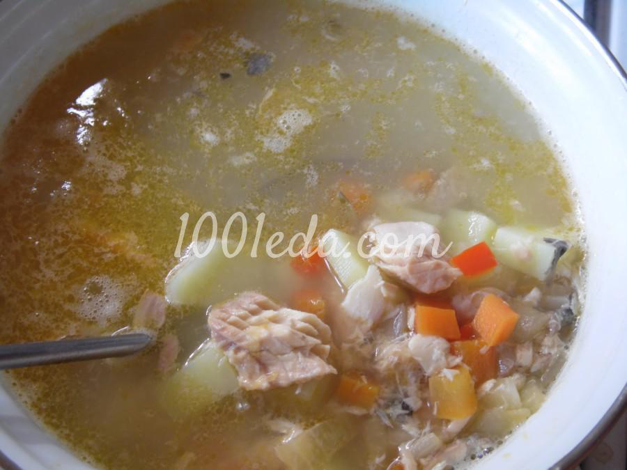 Суп рыбный с сыром и шпинатом: пошаговый с фото - Шаг №3