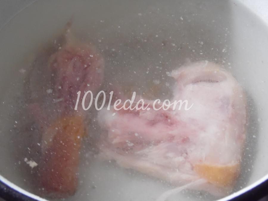Суп солянка с рисом: пошаговый с фото - Шаг №1